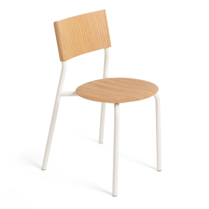 The SSD chair, oak / cloud white by TipToe