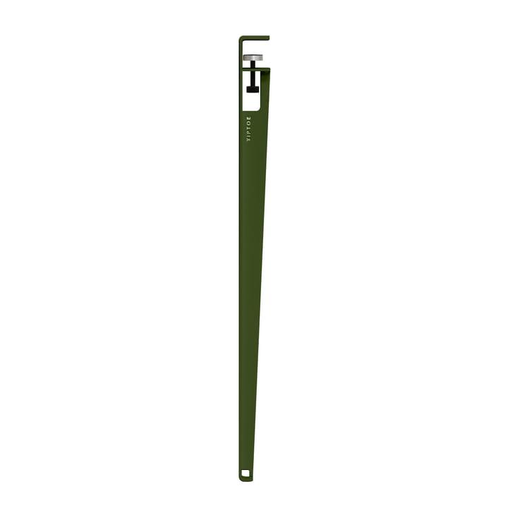 The table leg H 90 cm, rosemary from TipToe