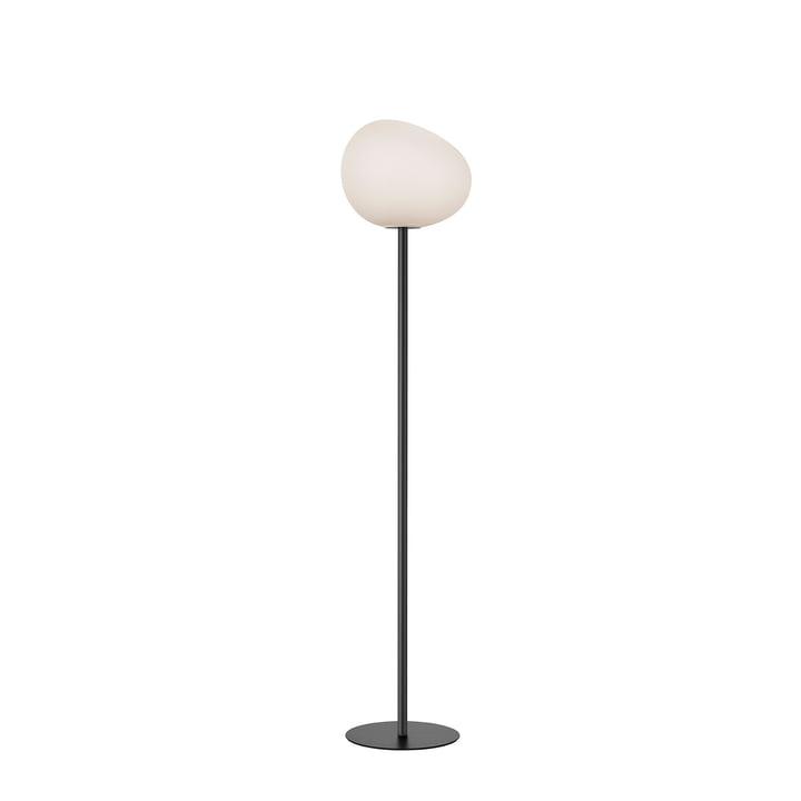 The Gregg floor lamp, media, white / granite by Foscarini