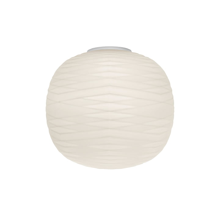 The Gem MyLight wall lamp, white / white by Foscarini