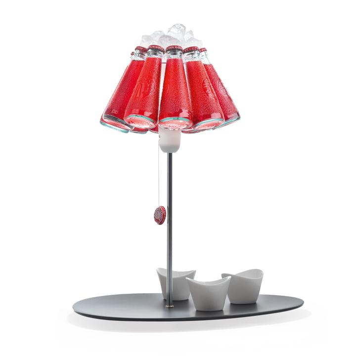 The Campari Bar table lamp, red (EU) by Ingo Maurer