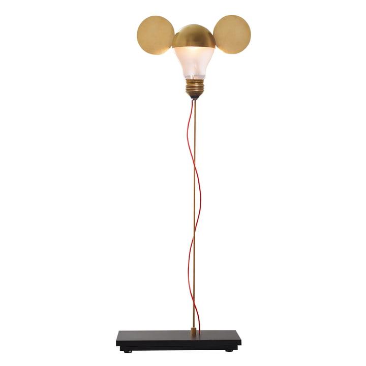 The I Ricchi Poveri Toto table lamp, brass (EU) by Ingo Maurer