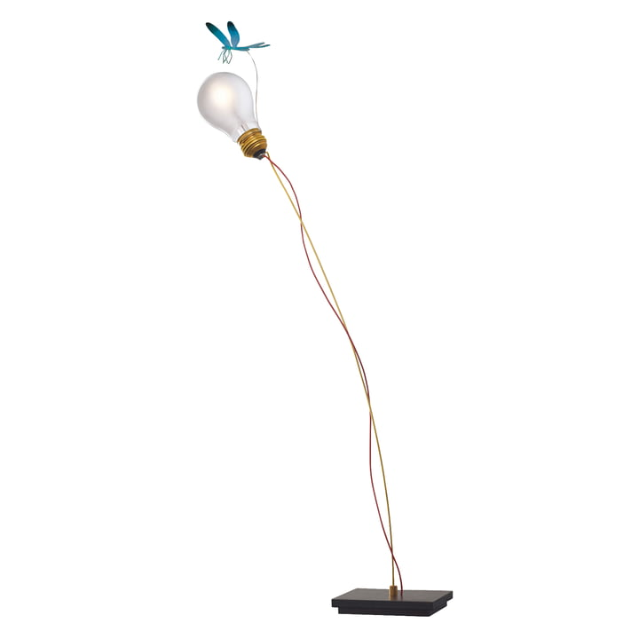 The I Ricchi Poveri Bzzzz table lamp, blue (EU) by Ingo Maurer