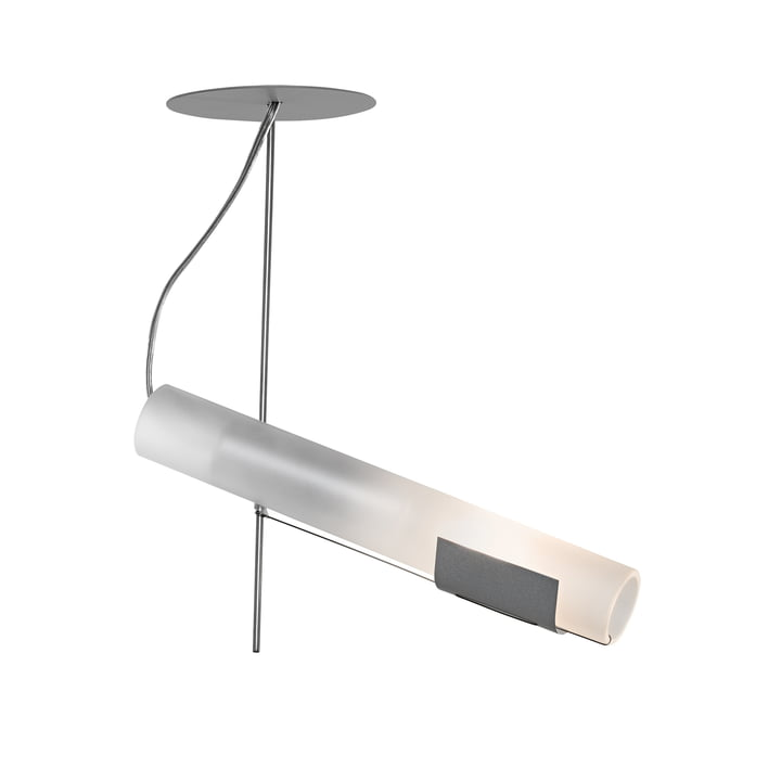 The Zuuk wall lamp, stainless steel by Ingo Maurer
