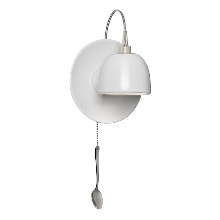 The Light au Lait wall lamp, white (EU) by Ingo Maurer
