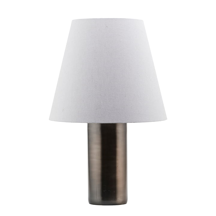 The Bakora table lamp H 52 x Ø 17 cm, antique metallic by House Doctor
