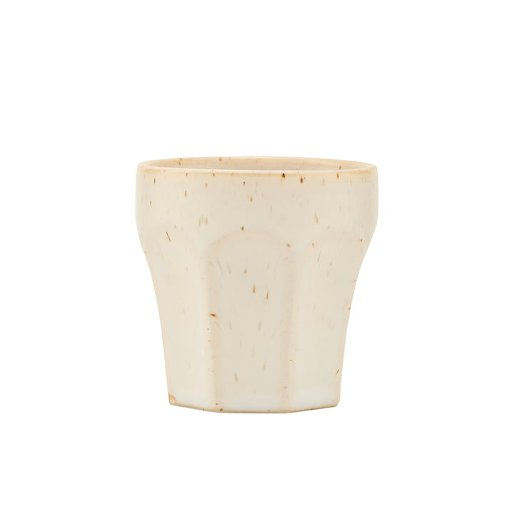 Mug Berica, H 63 mm, beige by House Doctor