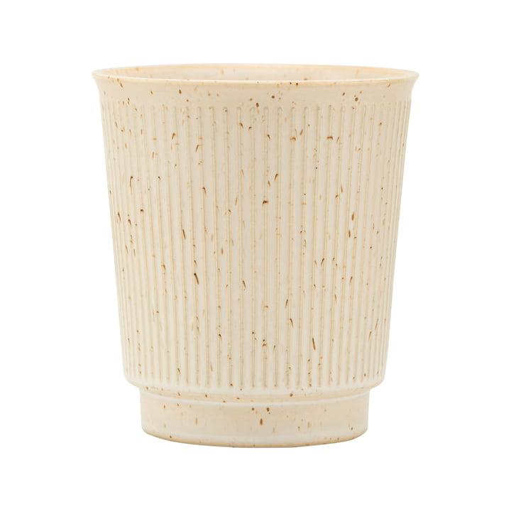 Mug Berica, H 97 mm, beige by House Doctor