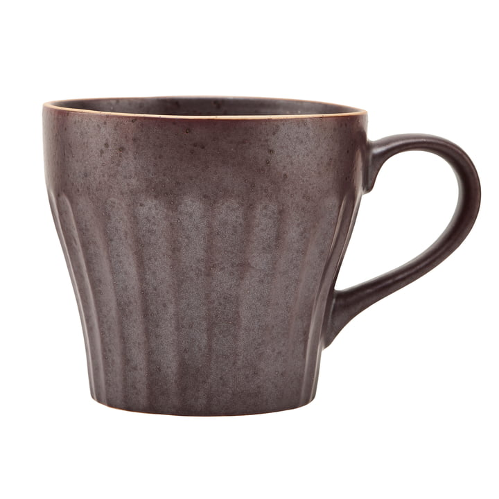 Mug with handle, Berica, brown by House Doctor