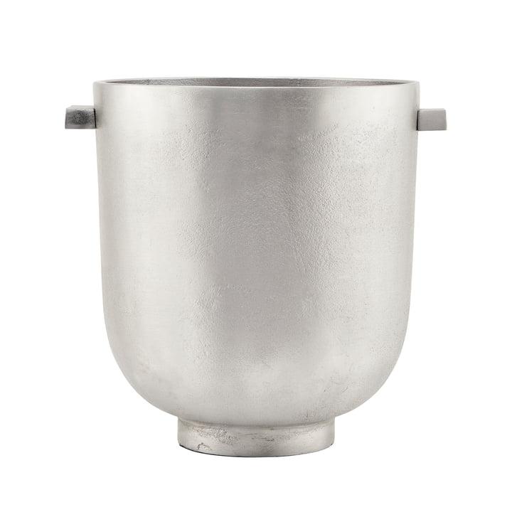The Foem Foem, Ø 25 x H 28 cm, silver by House Doctor