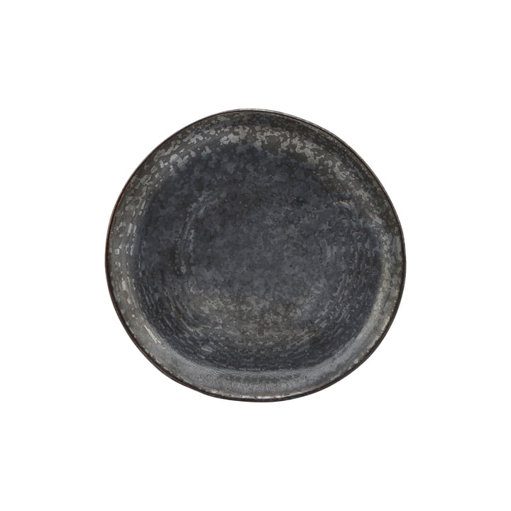 Cake plate Pion, Ø 1 6. 5 cm, black / brown from House Doctor