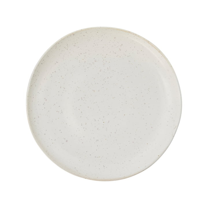 Plate Pion, Ø 21.5 cm, gray / white by House Doctor