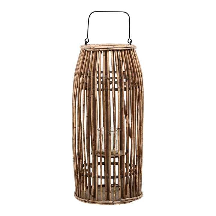 The Ova lantern, H 65 cm, natural by House Doctor