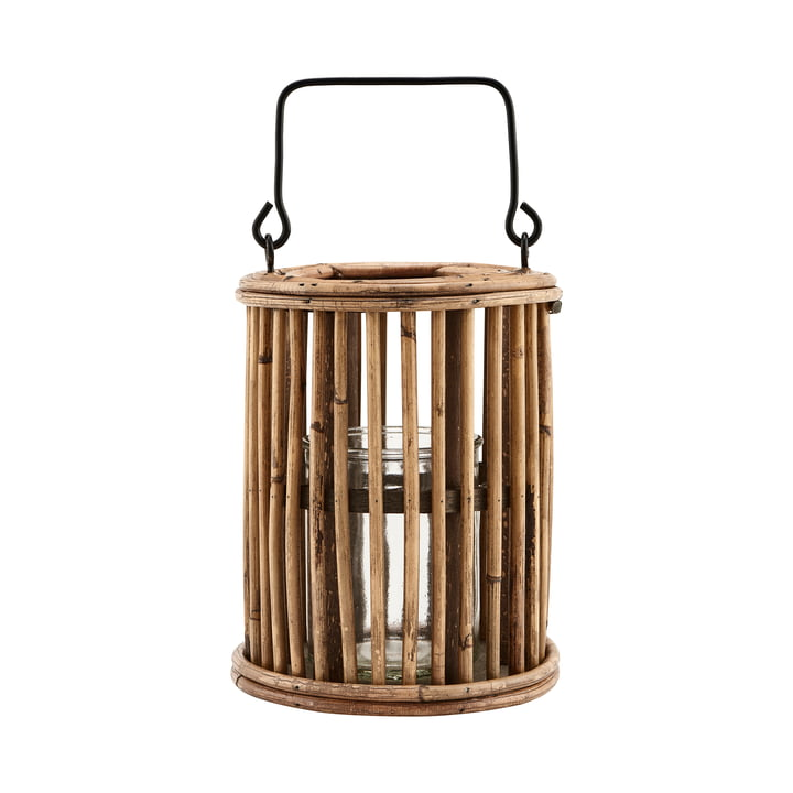 The lantern Ova, H 18 cm, natural by House Doctor
