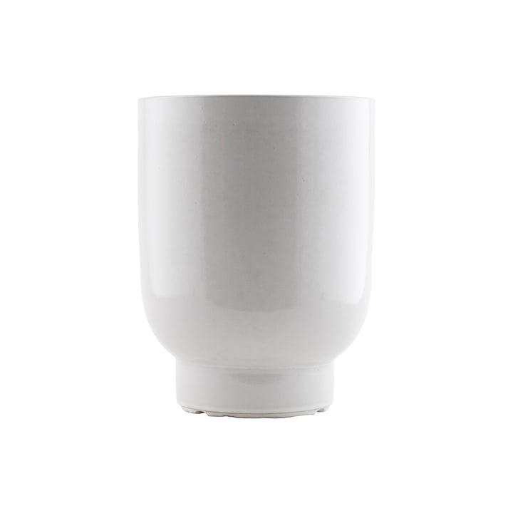 The Pot flowerpot, Ø 20 x H 26 cm, white by House Doctor