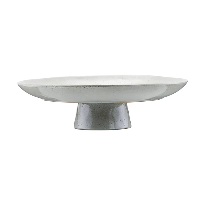 The Rustic cake plate Ø 32 cm, gray-blue by House Doctor