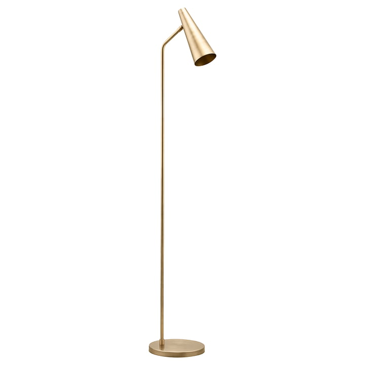 The floor lamp Precise, brass by House Doctor