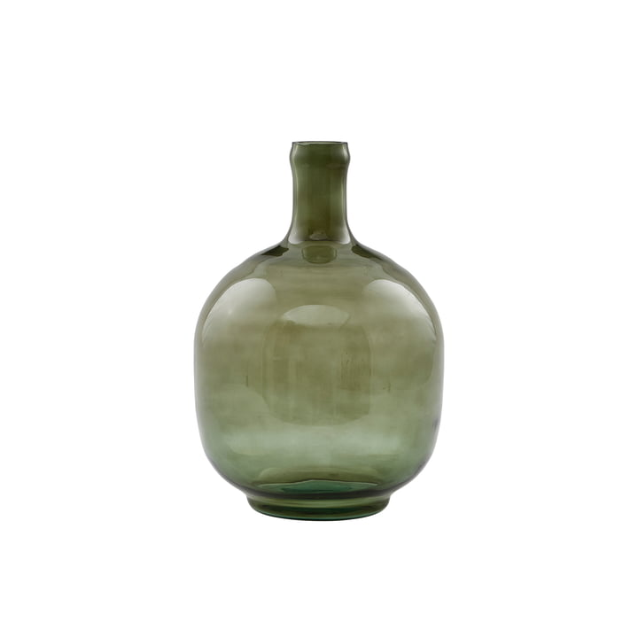 The Tinka vase, Ø 16.5 x H 23.5 cm, dark green by House Doctor