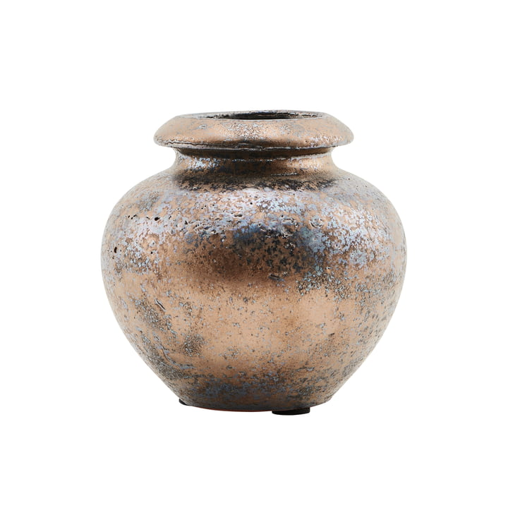 The vase Mini, Ø 12 x H 12 cm, bronze / brown by House Doctor