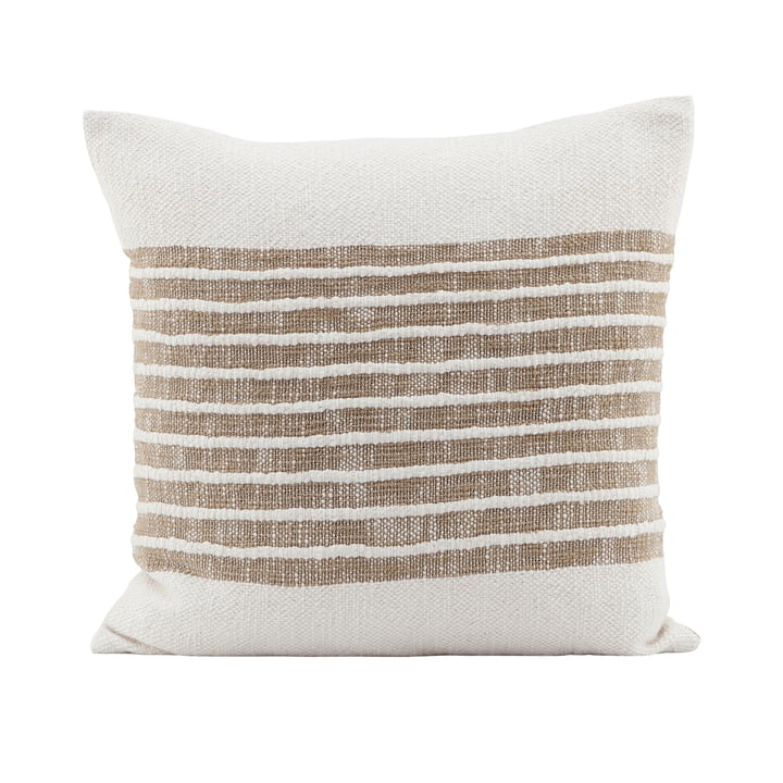 The Yarn pillowcase, light brown by House Doctor