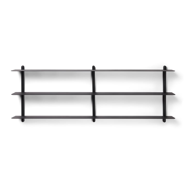 Nivo wall shelf D Large from Gejst in black