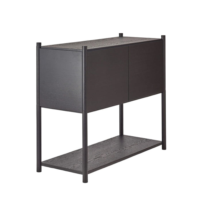 Sceene shelf C by Gejst in black