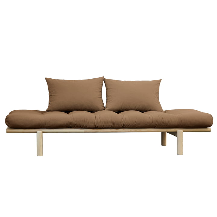 The Pace Daybed, natural pine / mocca (755) from Karup Design