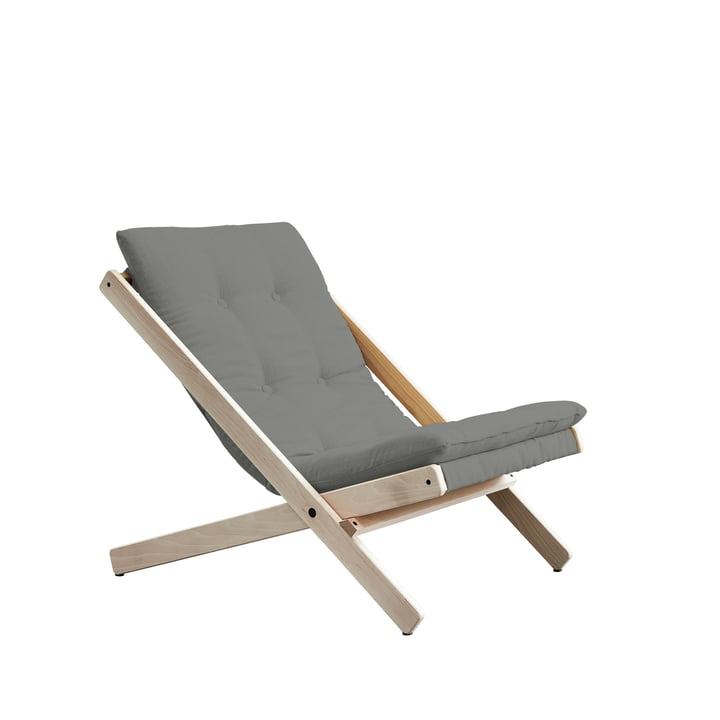 The Boogie folding chair, beech / grey (646) by Karup Design