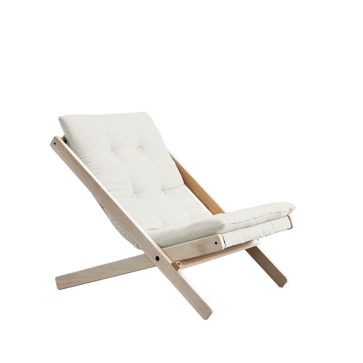 The Boogie folding chair, beech / natural (701) by Karup Design