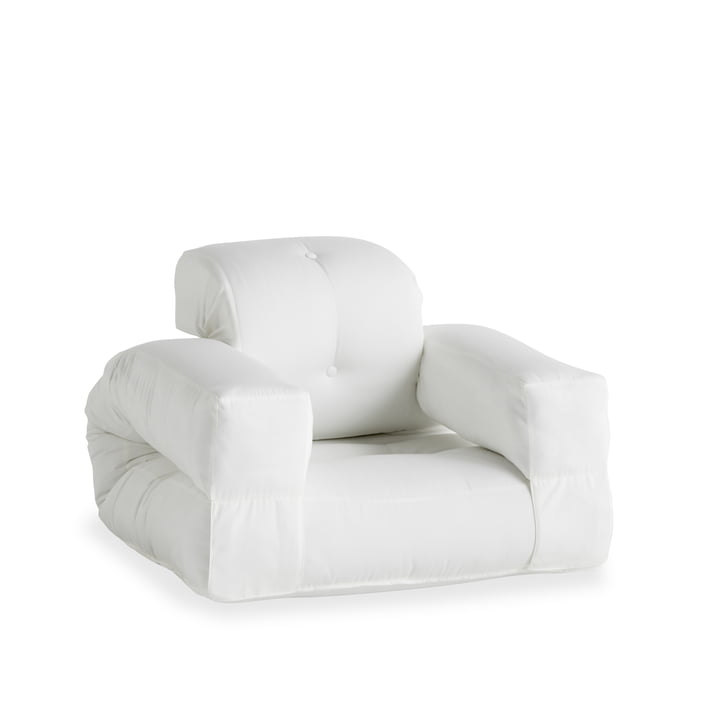 The Hippo OUT armchair, white (401) from Karup Design