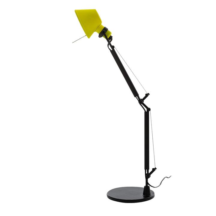 Tolomeo Micro Bicolor table lamp, black / yellow by Artemide