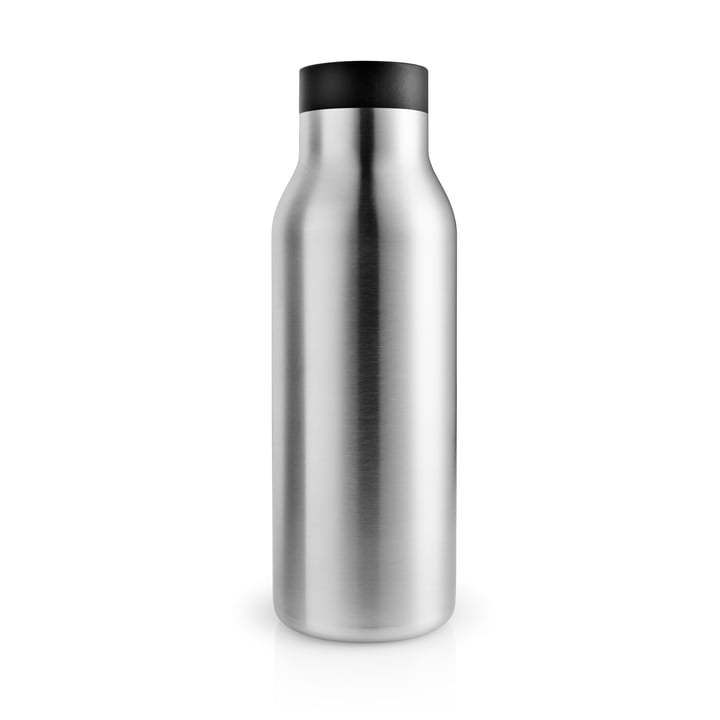 The Urban thermos bottle 0.5 l, stainless steel / black by Eva Solo