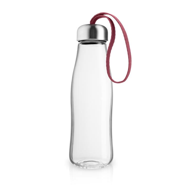 Eva Solo - glass drinking bottle 0.5 l, pomegranate