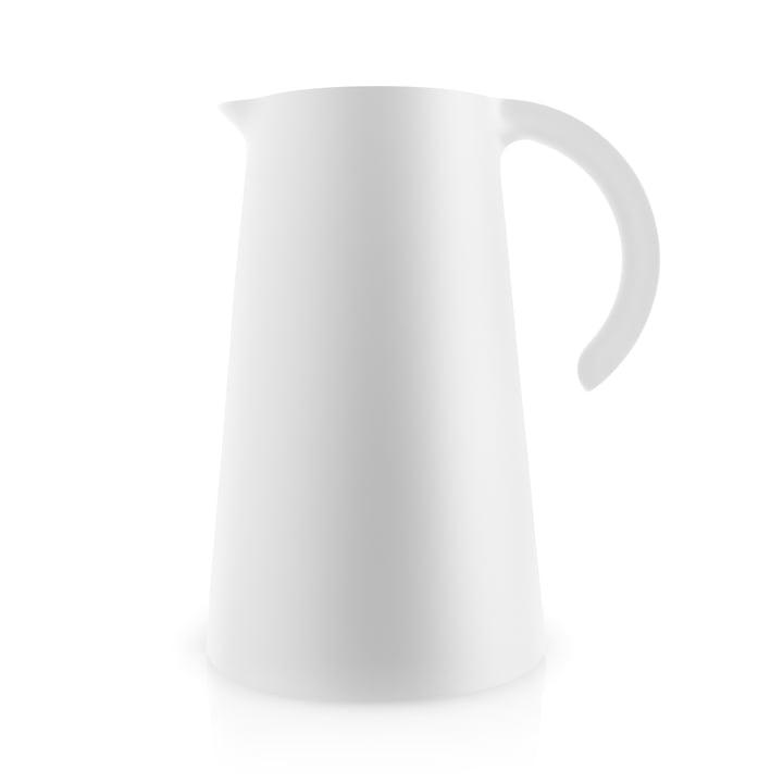 The Rise vacuum jug 1 l, white by Eva Solo