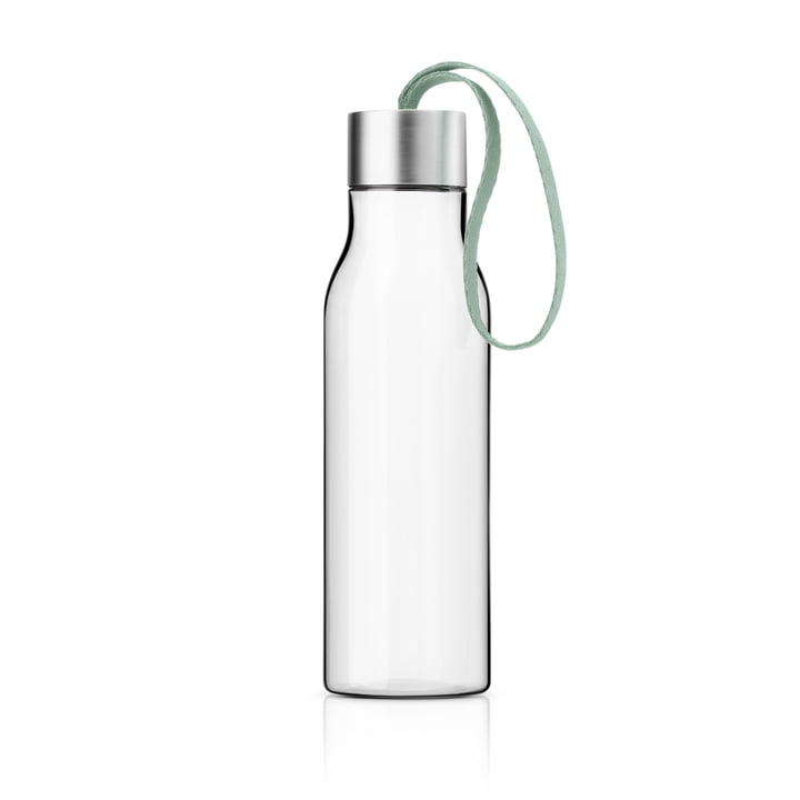 The drinking bottle 0.5 l, faded green from Eva Solo