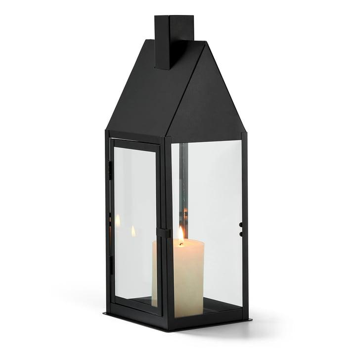 Hus lantern L, black by Philippi