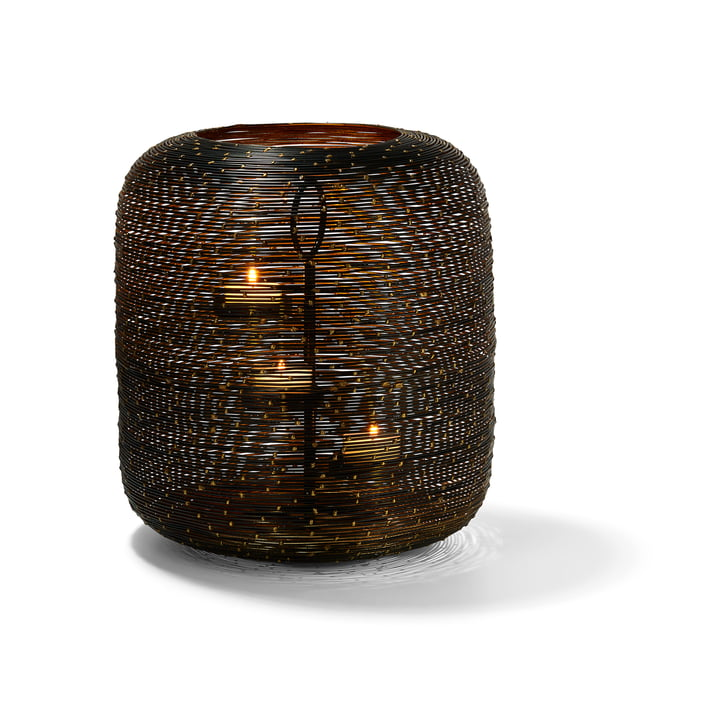 Botswana lantern L, brown by Philippi
