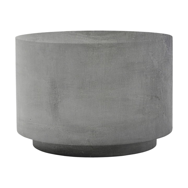 The Fifty side table, Ø 50 x H 35 cm, concrete by House Doctor