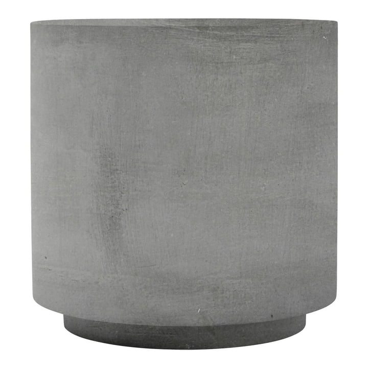 Fifty side table, Ø 50 x H 50 cm, concrete by House Doctor