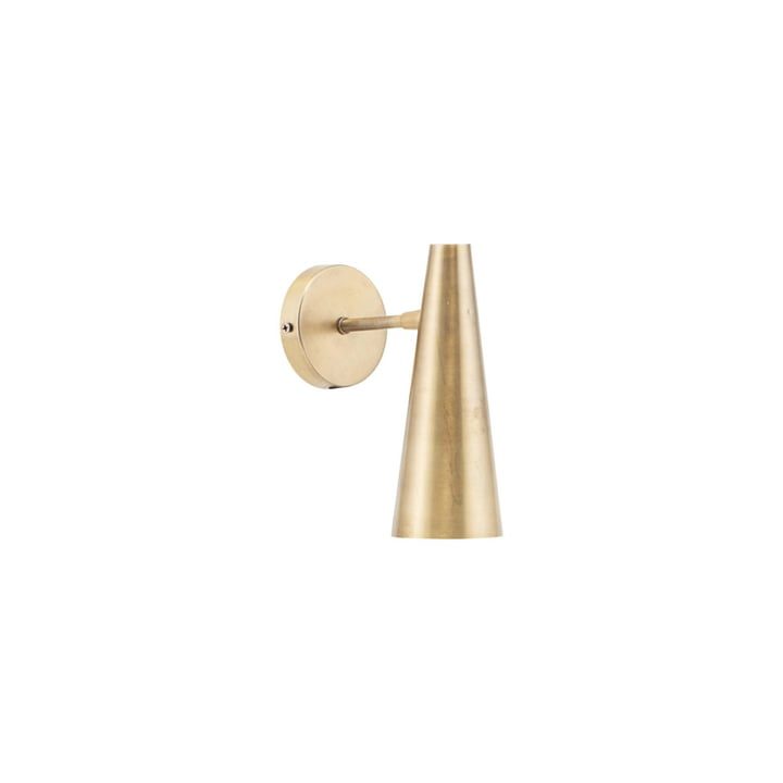 Precise wall lamp H 21 cm, brass by House Doctor