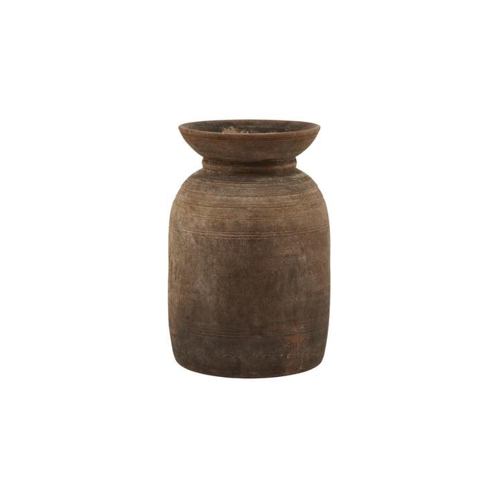 Vase Minu, Ø 17 x H 28 cm, brown by House Doctor