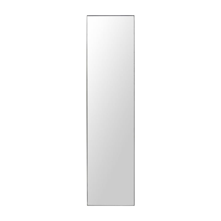 Mirror with frame, Raw, 50 x 200 cm, black frame by House Doctor