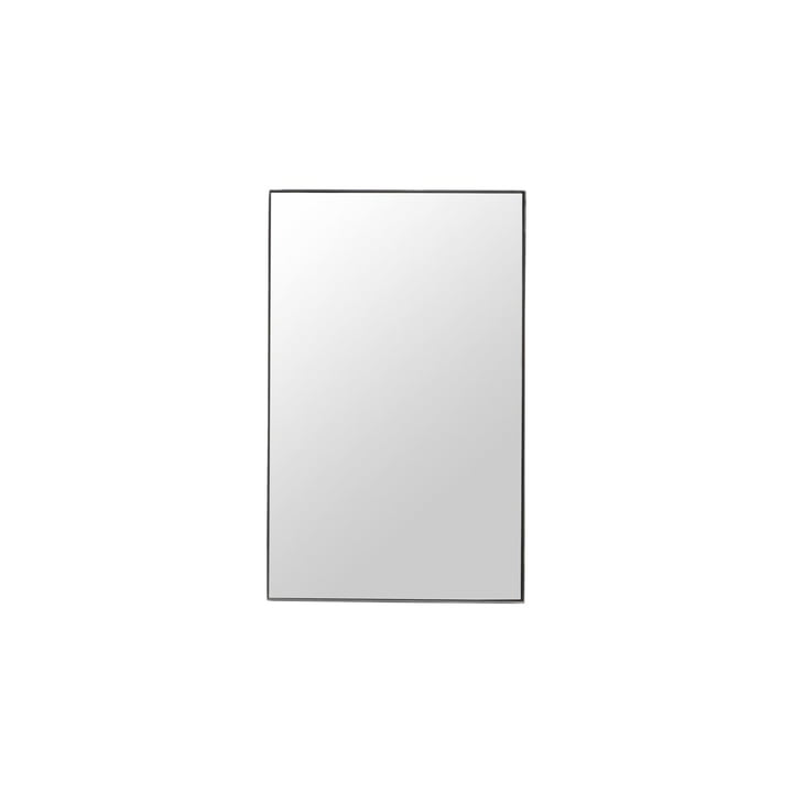 Mirror with frame, Raw, 50 x 80 cm, black frame by House Doctor
