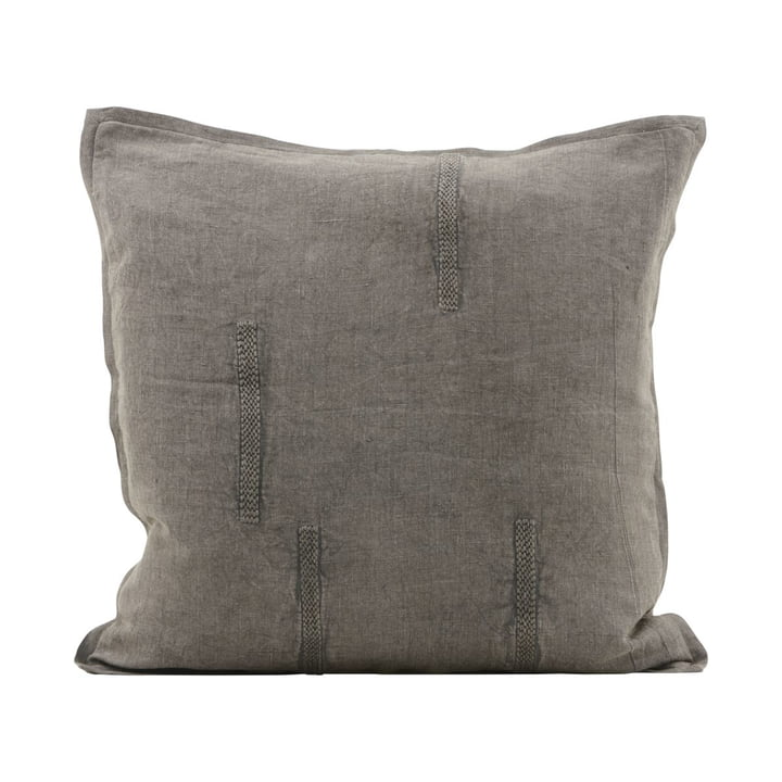 Mollie pillowcase 50 x 50 cm, gray by House Doctor