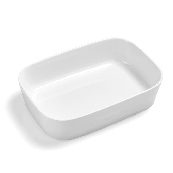 The Modula baking dish, 30 x 21 x 7 cm, white by Rosti