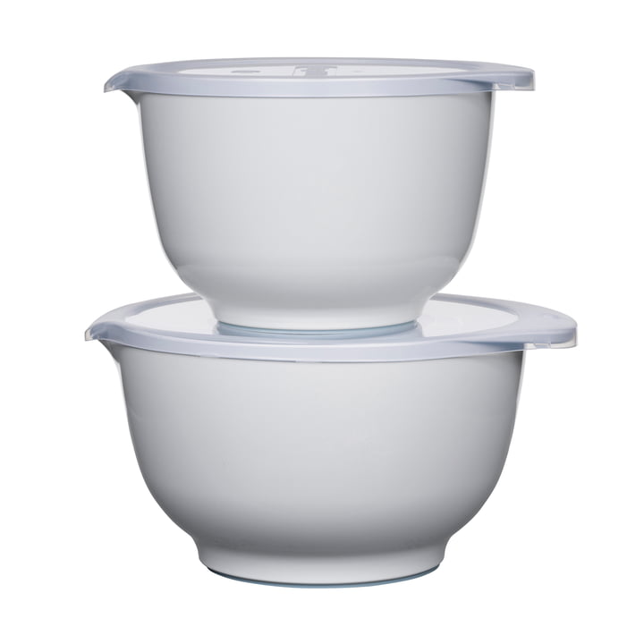 The Margrethe mixing bowl set, white (4 pieces) from Rosti