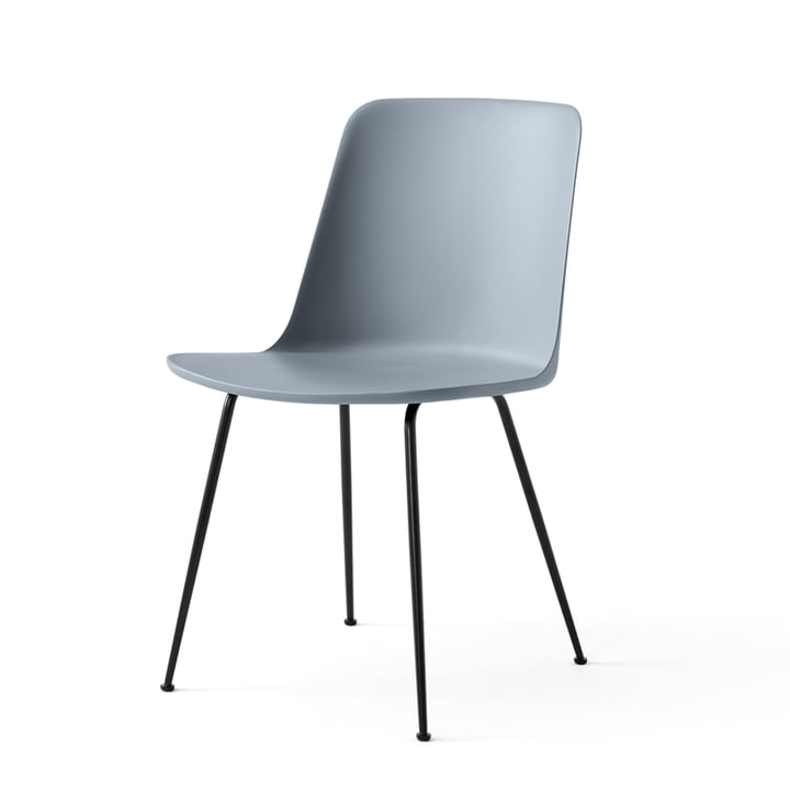 The Rely Chair FW6, light blue / black by & tradition