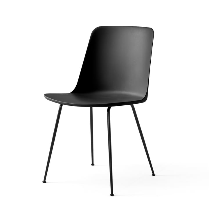 The Rely Chair FW6, black / black by & tradition