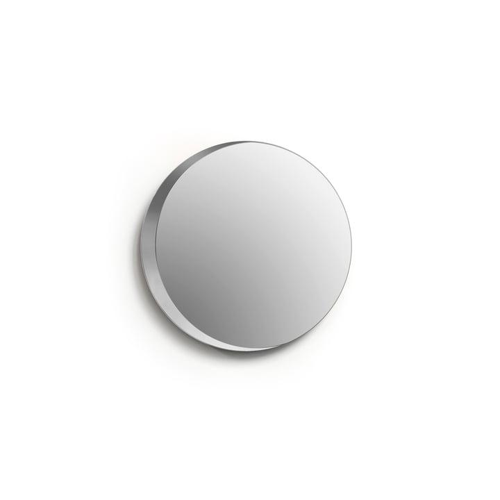 Cres mirror, Ø 25 cm / clear from Caussa