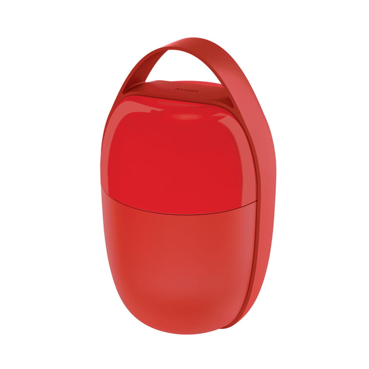 The Food à Porter Lunchpot, red from Alessi